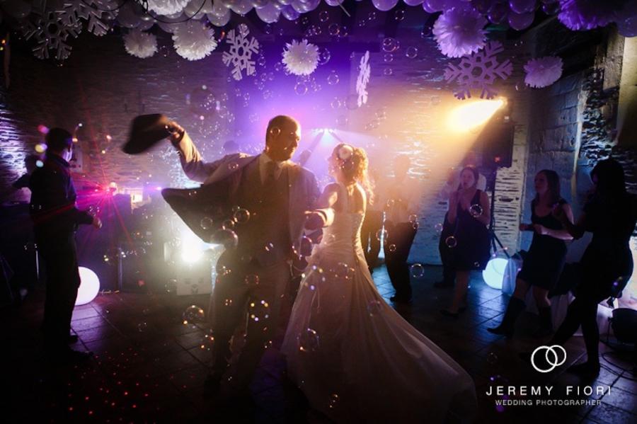 Eclairage et animation pour l'ouvertire de bal des mariés