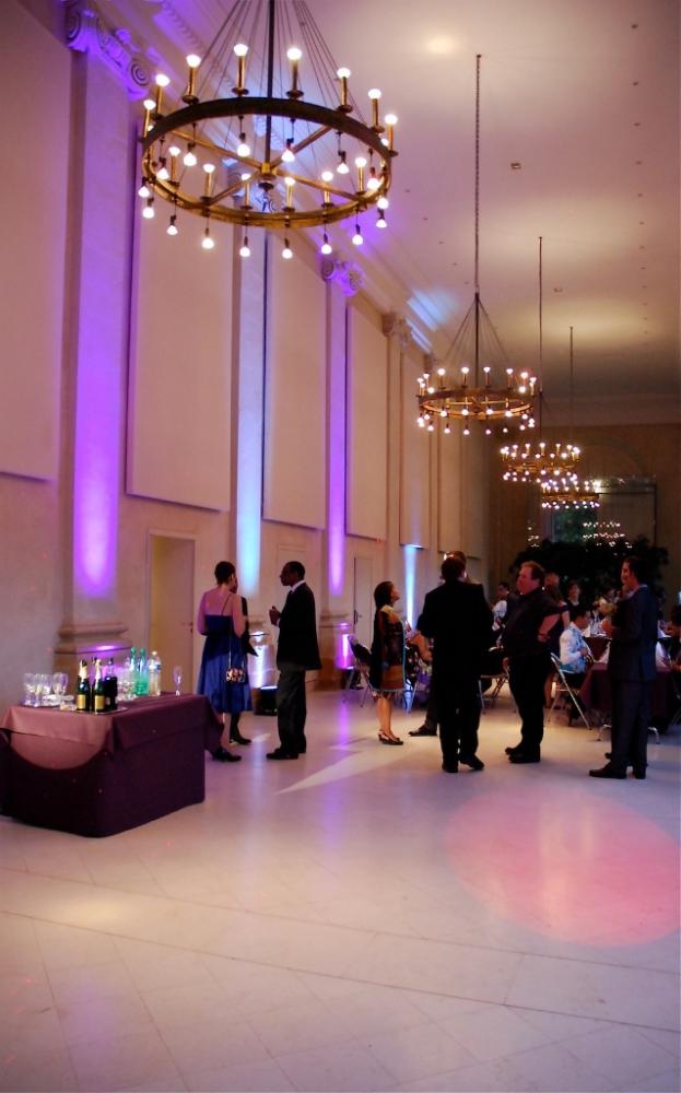 Salle de réception de mariage à l'Orangerie de Pignerolles (49)