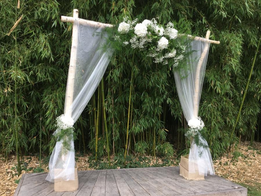 Mariage : décor de cérémonie laïque
