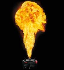 Projecteur de Flammes réelles