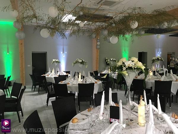 éclairage salle mariage