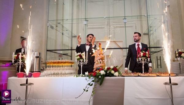 animation feu artifice dessert mariage