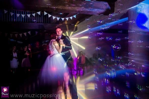 danse des mariés - effet bulles