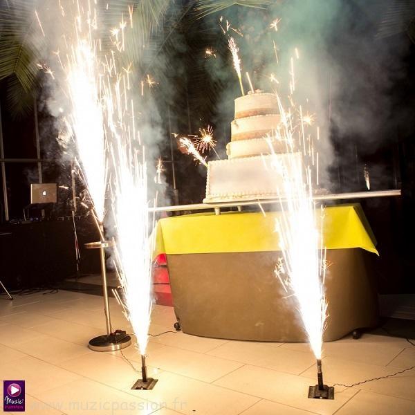 feu artifice - dessert mariage anniversaire événement