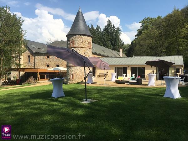 Réception mariage au Château du Lattay (53)