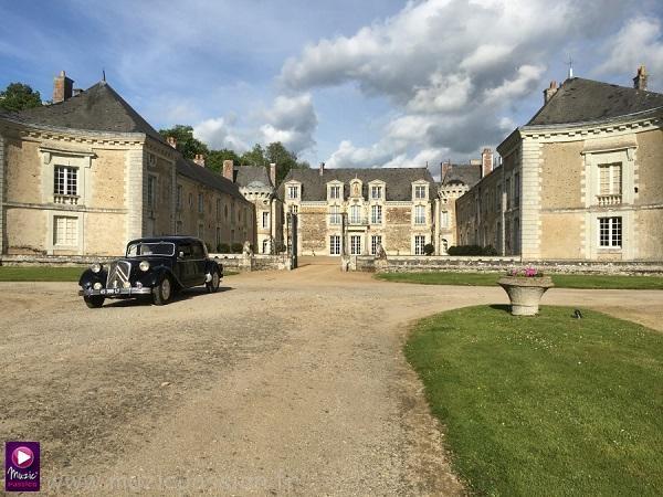 salle mariage - Château de la Lorie (49)