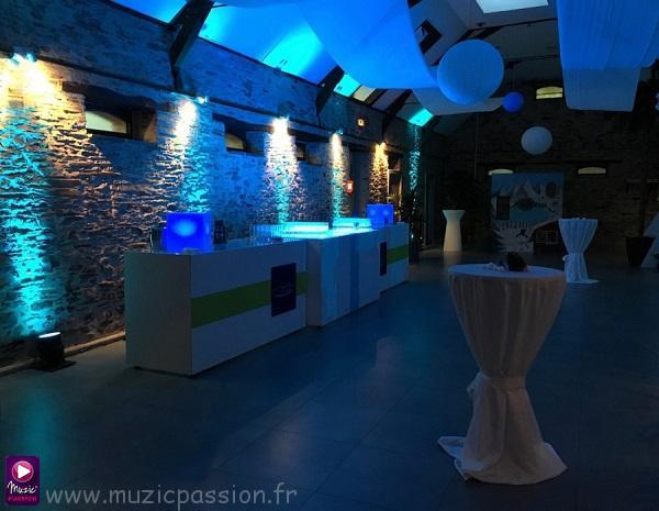 salle réception - Nouvelle Grange de la Chevalerie (49)