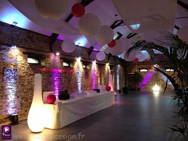 éclairage architectural - Nouvelle Grange de la Chevalerie (49)