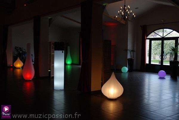 éclairage lampes gonflables