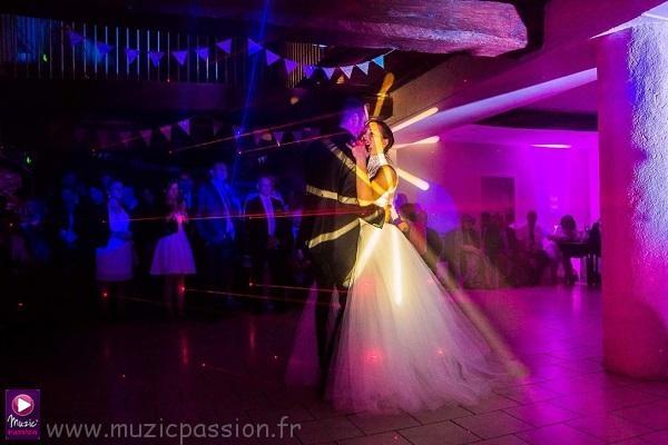 animation danse des mariés