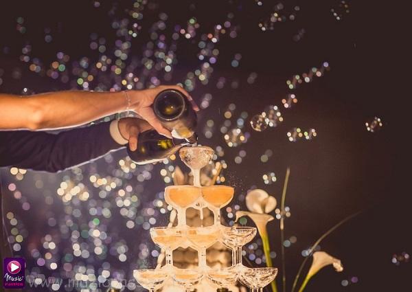 cascade champenoise - machines à bulles
