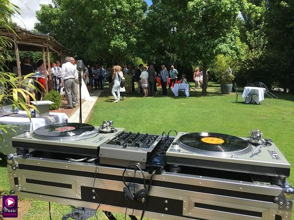 platines vinyles - animation cocktail mariage
