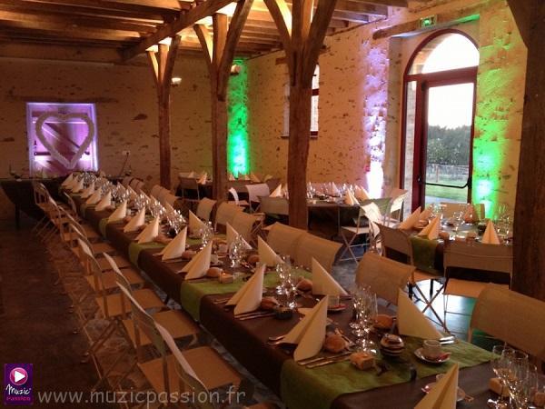salle mariage - Domaine des Rues (49)