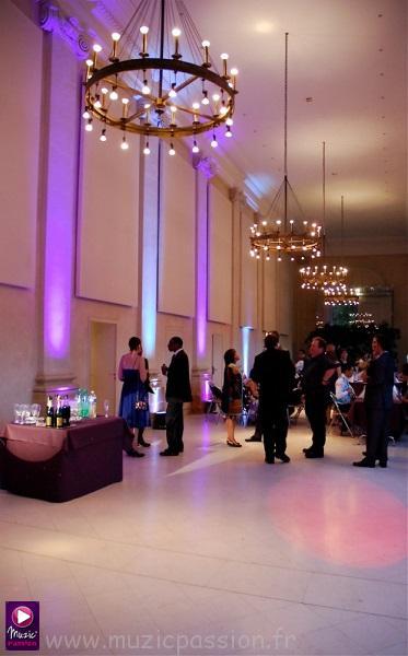 salle mariage - Orangerie de Pignerolles (Angers 49)