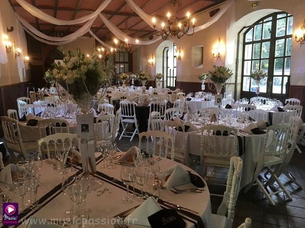 salle réception mariage - Château de la Lorie (49)