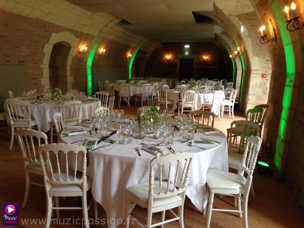 salle réception mariage - Château de la Perrière (Angers 49)